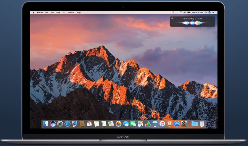 macos sierra on a macbook