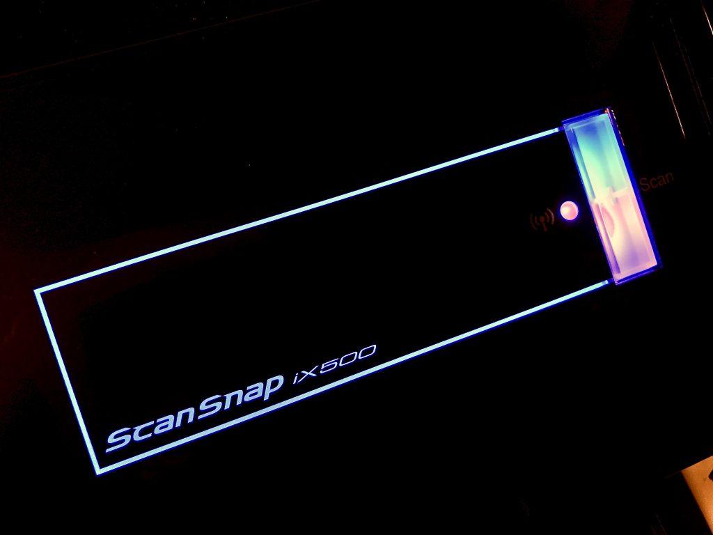 fujitsu scansnap ix500 button
