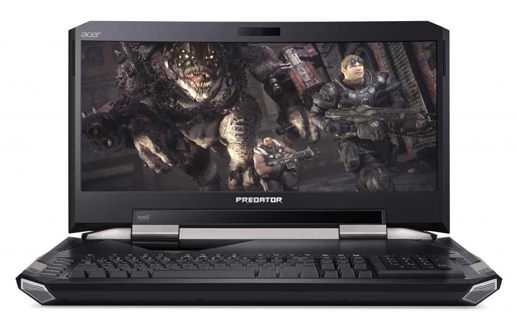acer predator 21 x gx21-71_straight-on_game-on-screen_number-pad