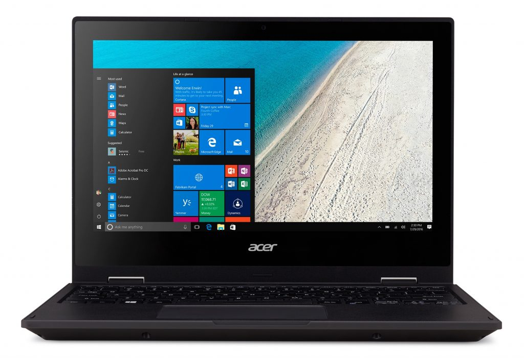 Acer TravelMate Spin B1 latop