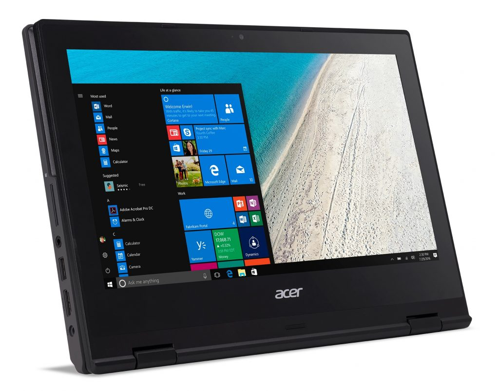 Acer TravelMate Spin b1 tablet