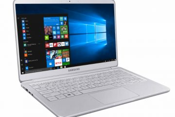 samsung notebook 9 15-inch 3/4 profile