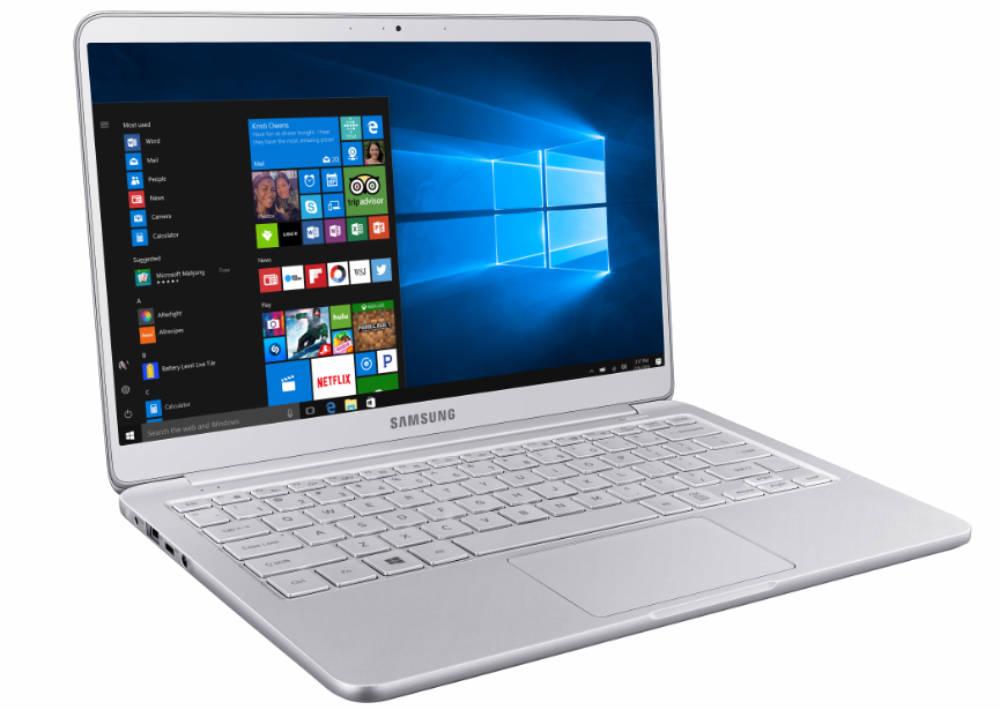samsung notebook 9 15-inch 3/4 profile