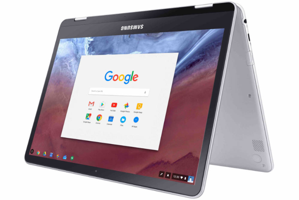 samsung chromebook-pro-and-plus-tent-mode
