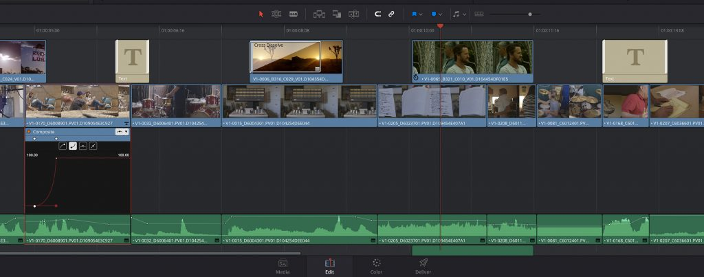 davinci resolve editing tools