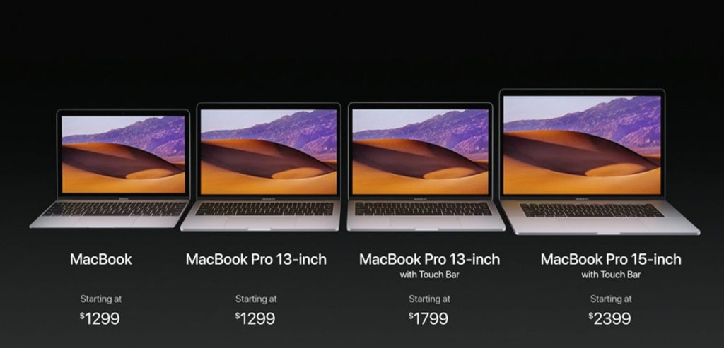 2017 macbook pro price options