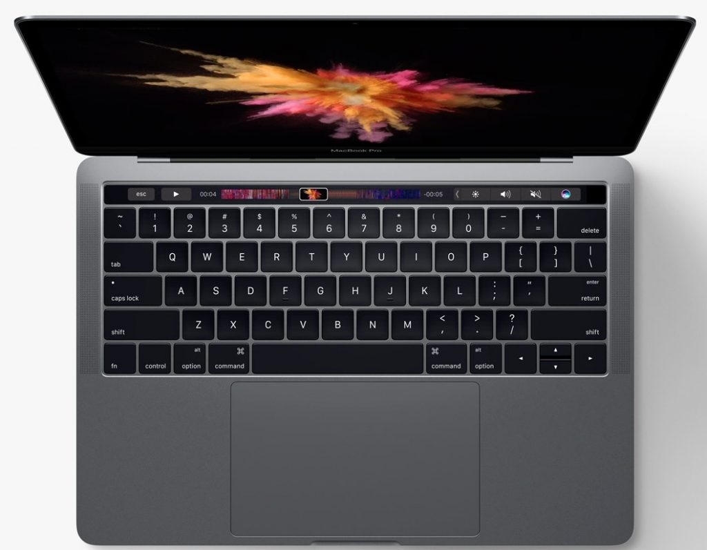 2017 macbook pro with touch bar and kaby lake