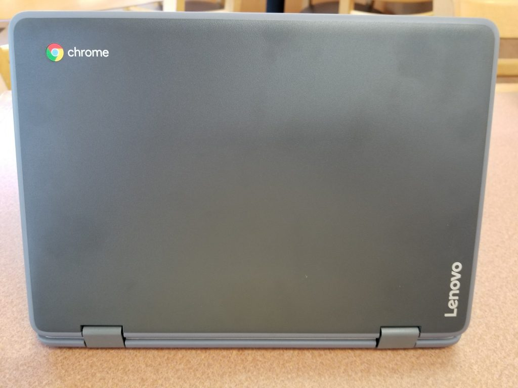lenovo flex 11 chromebook top