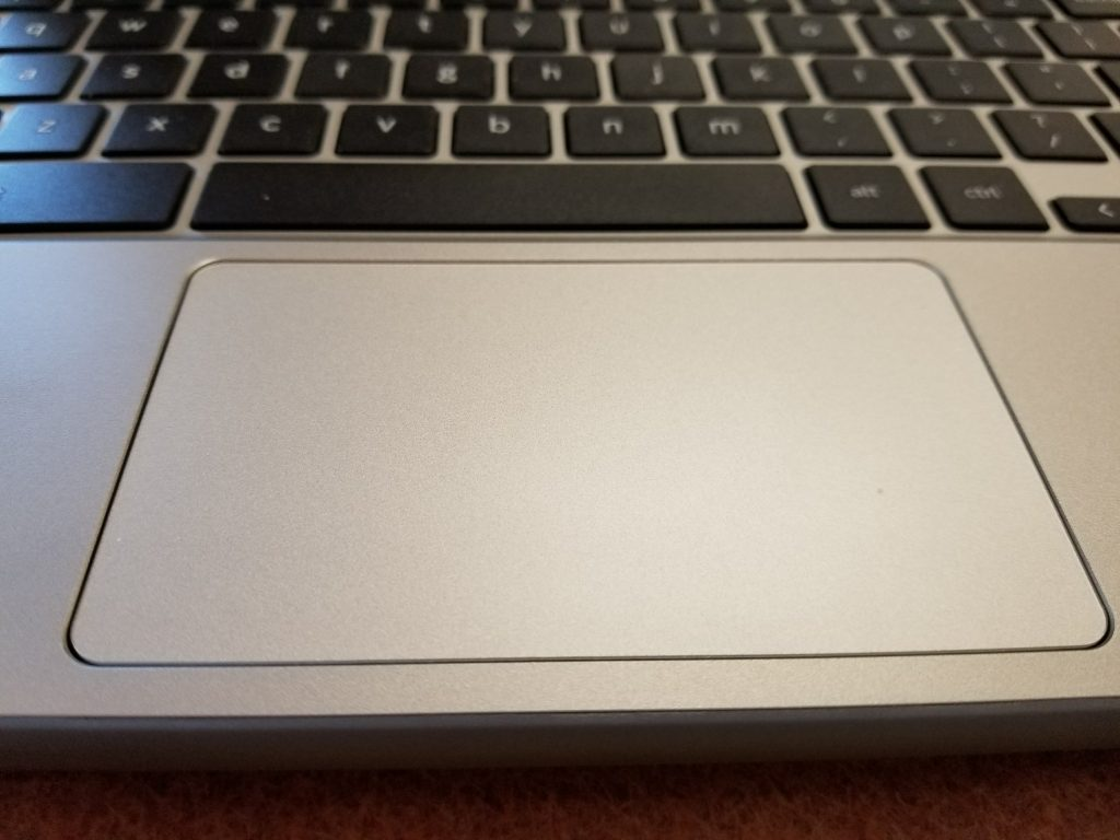 Lenovo Flex 11 Chromebook touchpad