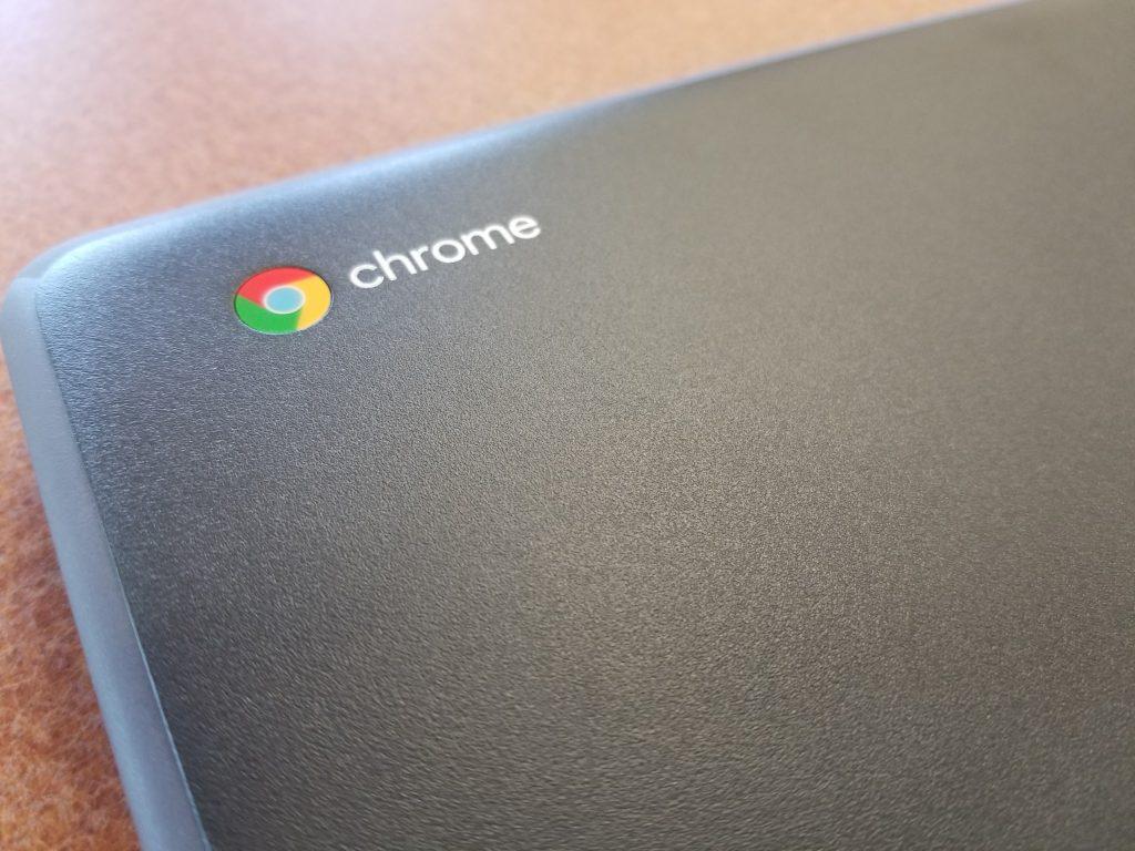 Lenovo Flex 11 Chromebook chromeos branding